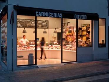 Como Decorar Una Carniceria En Navidad.Meat Market Aurora Gomez Design