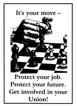 Get Involved In Your Union - It's Your Move!