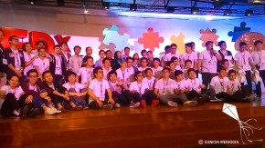 TEDxXavierSchool 2016 family picture