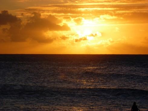 Turtle Bay sunset