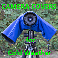 The Camera Parka is perfect for shooting the lights in extreme cold weather. AT Frosted Lens