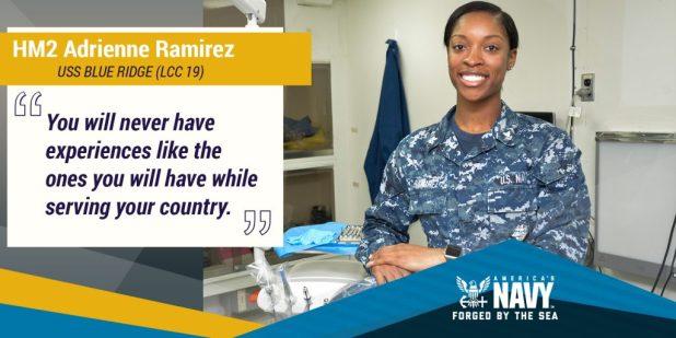 HM2 Adrienne Ramirez