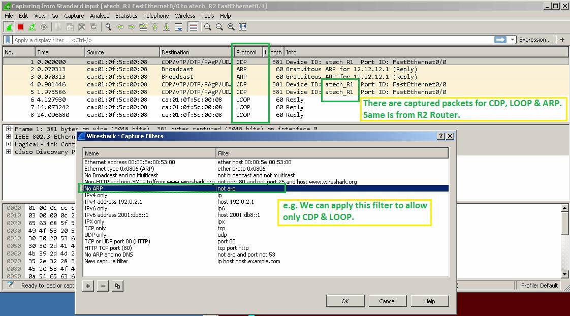 Wireshark Operators - ATech Academy