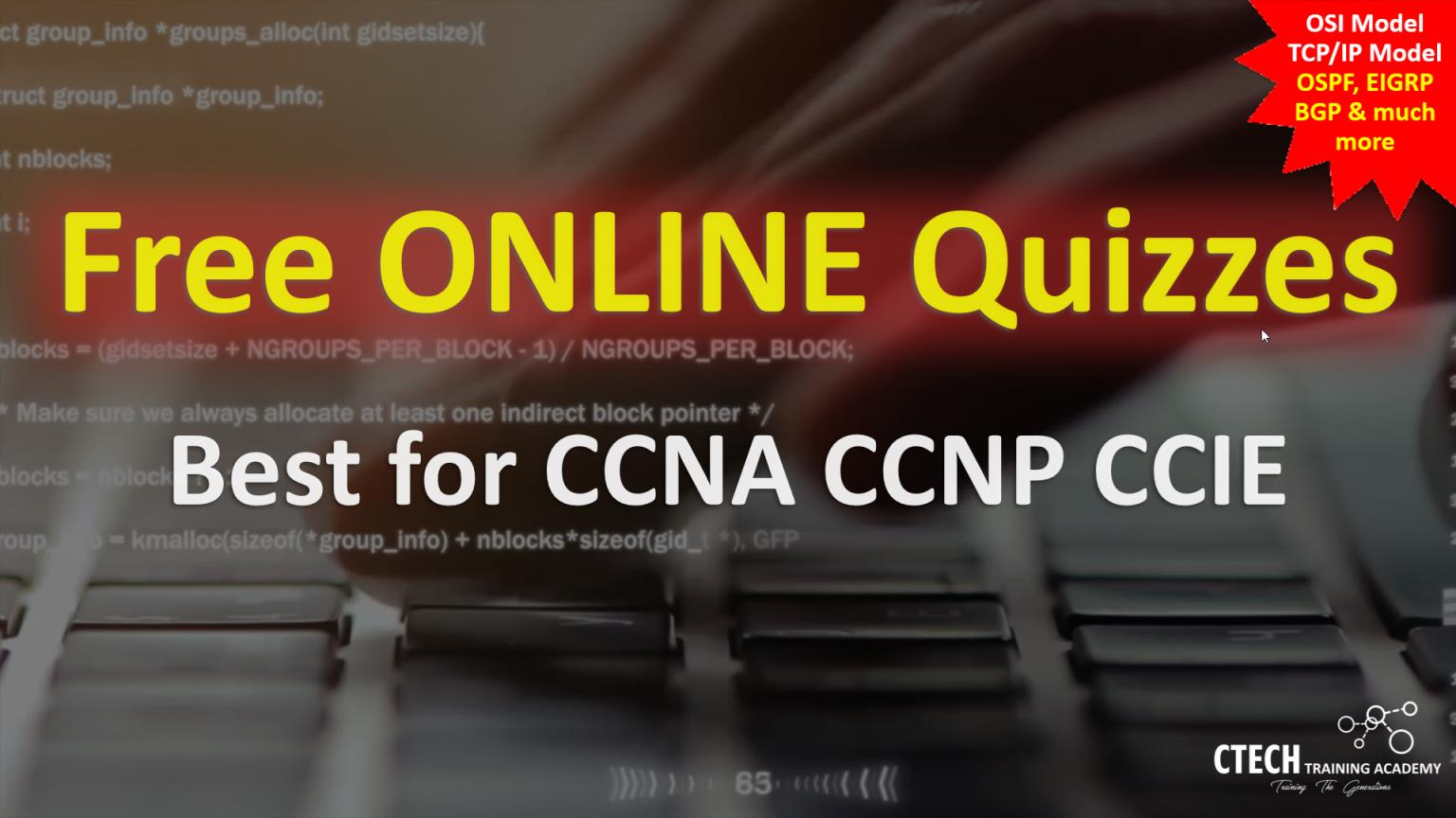 Free Online Quiz / Interview Questions (Best for CCNA, CCNP,    )