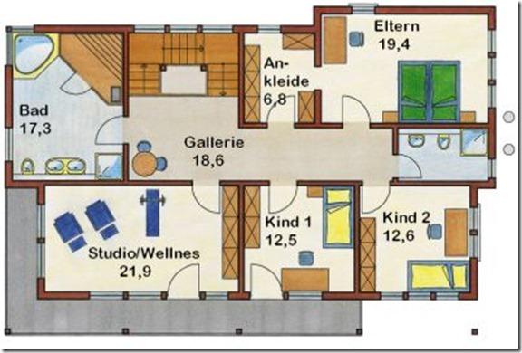 проект дома замка