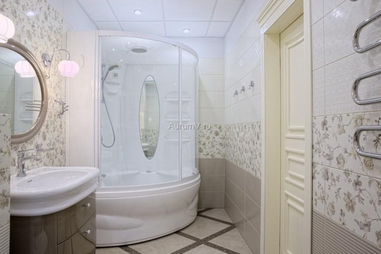 Отделка ванной комнаты в квартире