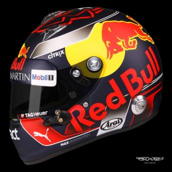 Casque de Max Verstappen version 2018