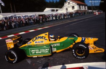 Schumacher - Benetton B192 - 1992 Spa