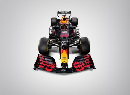 Red Bull RB16 - Face
