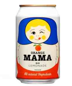 Orange Mama Bio Limonade von Herbal Moscow