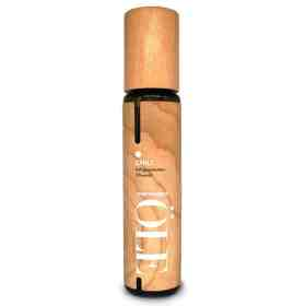 Kaltgepresstes Olivenöl mit Chili im Holzdesign von Greenomic