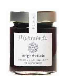 Marmelade Königin der Nacht mit schwarzen und roten Johannisbeeren und Bourbonvanille von Marmondo