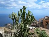 Blick von Castelmola auf Taormina