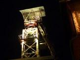 Komplett eingestrickt der Turm