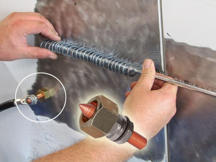 Zur Erdung von Spotter, Punktschweißgerät, Kontaktmasse Ausbeulen punktschweißen, Magnetische Masse