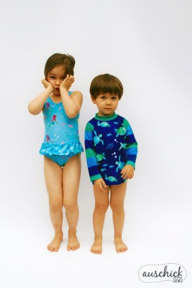 Boo! designs Ultimate Suit & Swimmers sewn by Auschick. See more at www.auschick.com.
