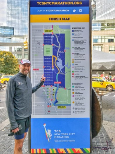 New-York-City-Marathon, Lultras, PreRace 2017, Marathon-Messe, Exhibition, Race-Map