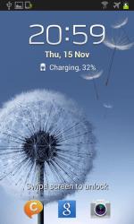 Galaxy S II Jelly Bean - Lock Screen