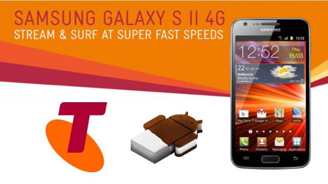 Galaxy S II 4G ICS