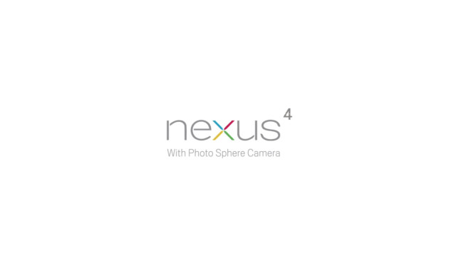 Nexus 4 Photo Sphere