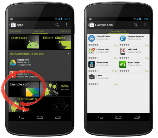 Google Apps via Play Store