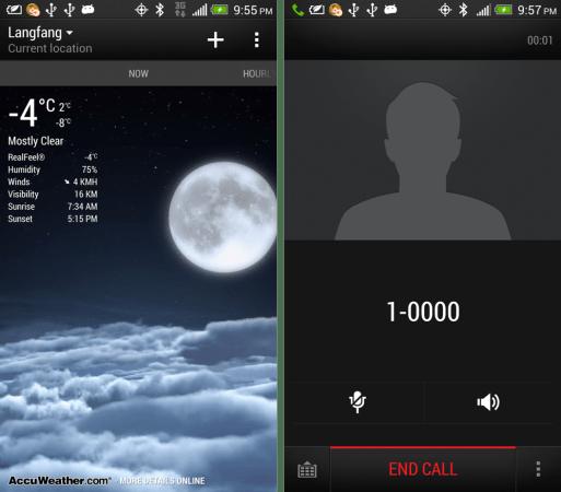 Some leaked screenshots of HTC Sense 5