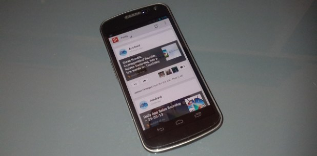 Google+ Update - Phone