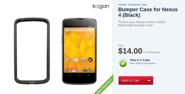 Kogan Nexus 4 Bumper