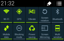 The quick settings toggles - horrible!
