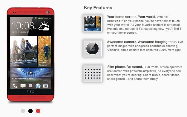 HTC-One-Red1