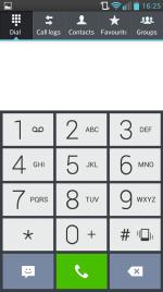 LG Dialler software