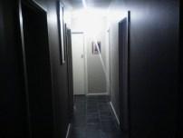 Low light hallway
