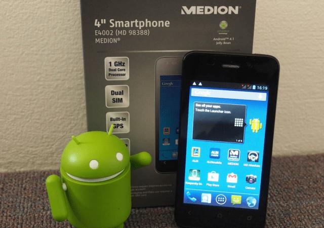 ALDI Medion 4- Smartphone 2