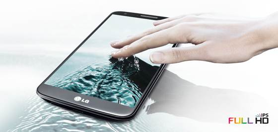 LG G2 Full HD IPS Display