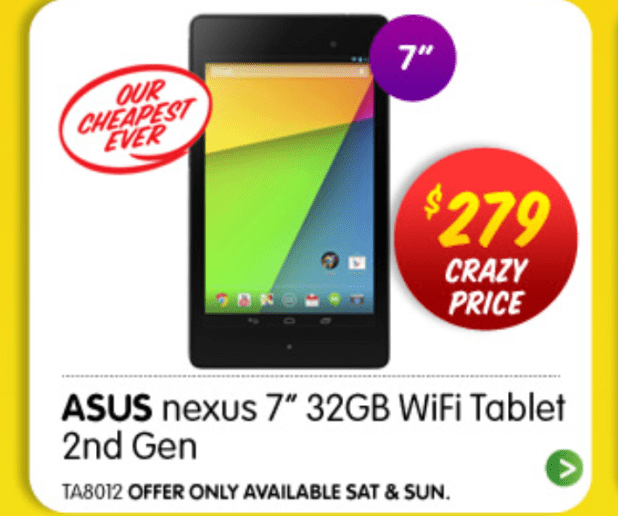 Nexus 7 2013 Dick Smith