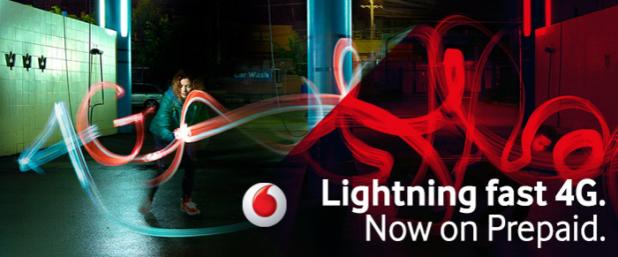 Vodafone 4G Prepaid
