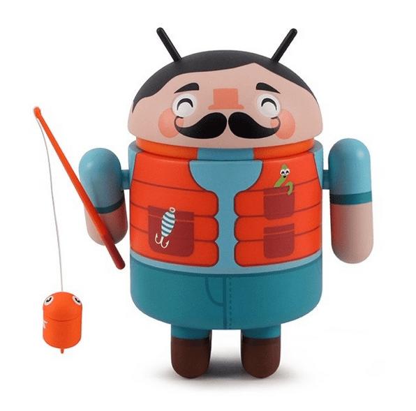 Dead Zebra Android mini collectables - Fisherman