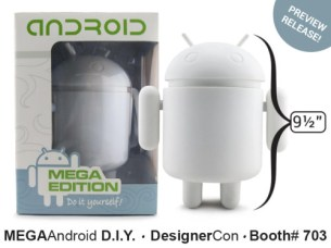 Mega Android - White