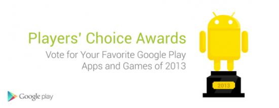 Google Play 2013 Awards