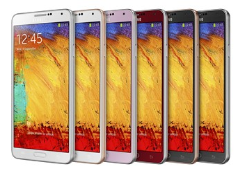 Samsung Galaxy Note 3 Colour Options 1