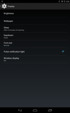 Android 4.4 - Wireless Display On