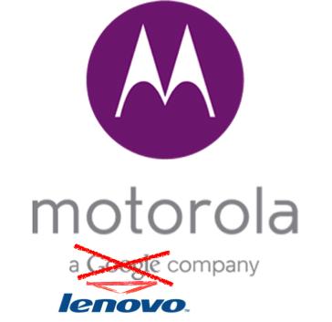 Motorola a Lenovo Company Logo