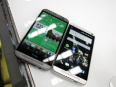 The new One (M8) (left) vs 2013's One (right)