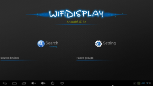 WifiDisplay didn't want to receive a screen mirror from my Nexus 5, despite detecting it.