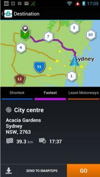 Navman Smart GPS Screenshot 3