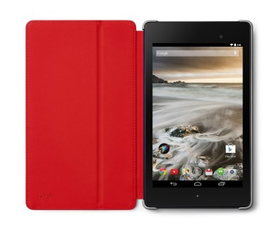 Nexus 7 Premium Case Grey Red 1