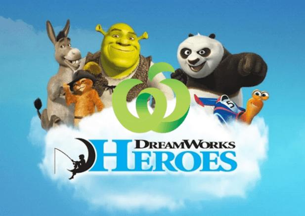 Woolworths - Dreamworks Heroes