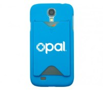 Blue Galaxy S4 Cover