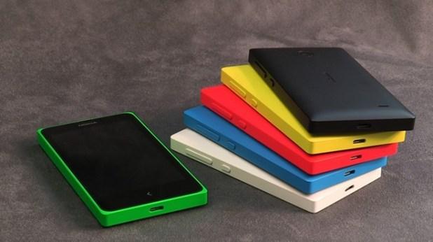 Nokia X Stacked
