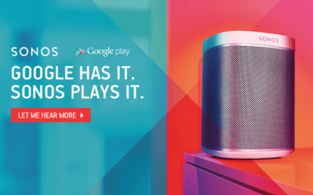 Sonos Google Play Music Offer